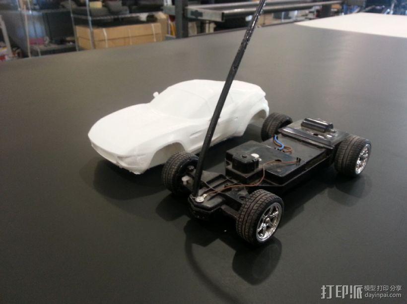 Rally Fighter车身 3D模型  图2