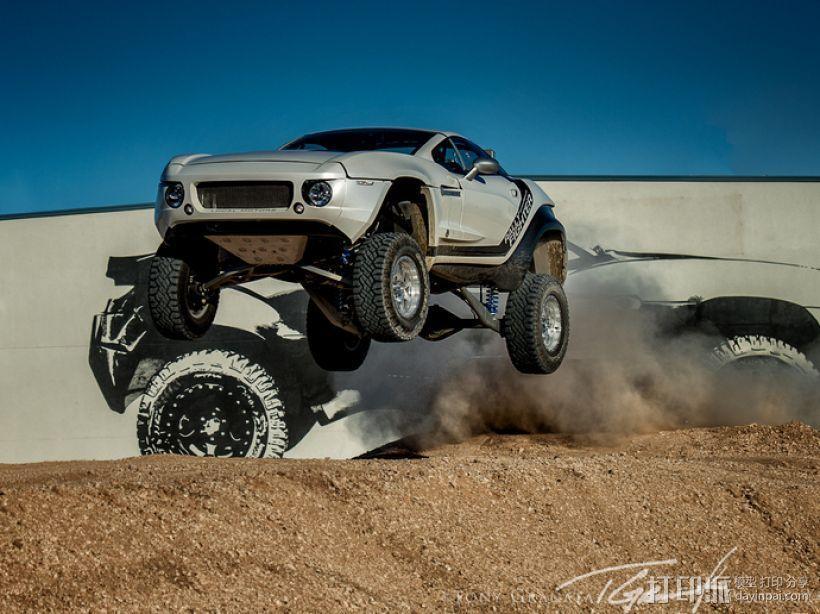 Rally Fighter车身 3D模型  图8