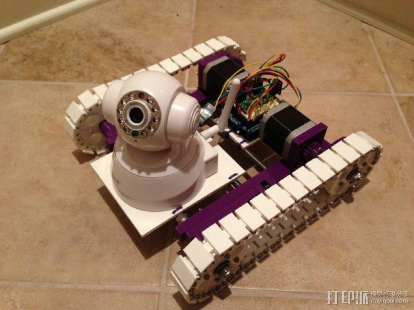 无线摄像机 3D模型  图1