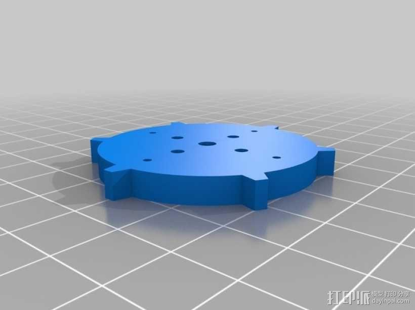 坦克履带 3D模型  图1