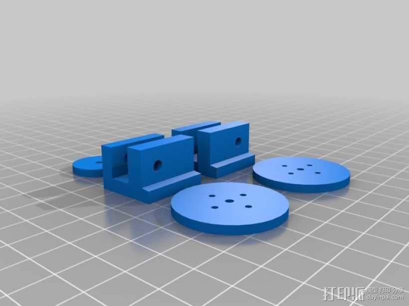 坦克履带 3D模型  图5