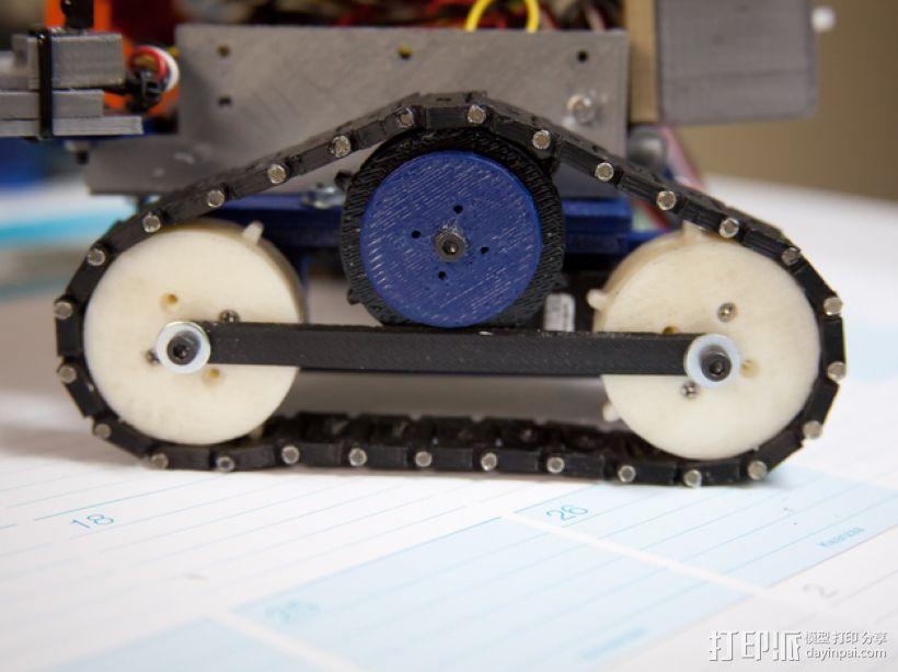 坦克履带 3D模型  图9