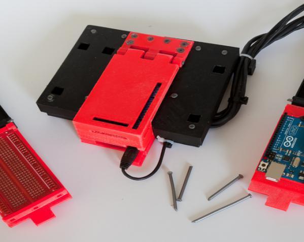 树莓派控制器外壳 3D模型  图2