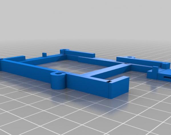 树莓派控制器外壳 3D模型  图6
