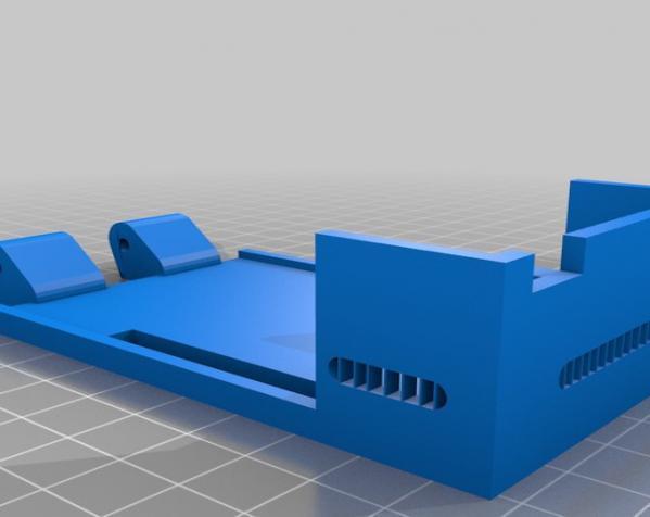 树莓派控制器外壳 3D模型  图4