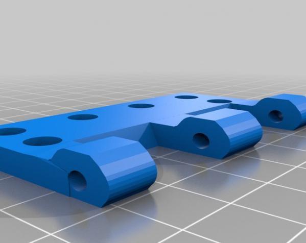 树莓派控制器外壳 3D模型  图5