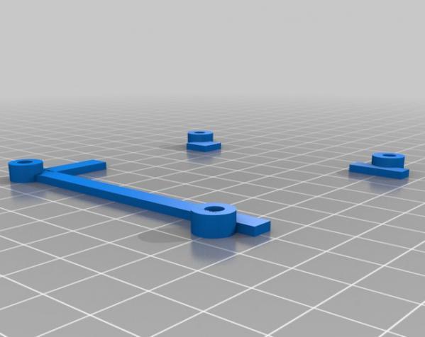 树莓派控制器外壳 3D模型  图7