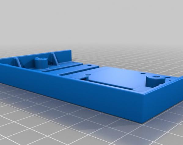 树莓派控制器外壳 3D模型  图9
