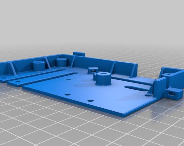 树莓派控制器外壳 3D模型  图10