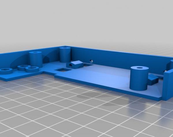 树莓派控制器外壳 3D模型  图12