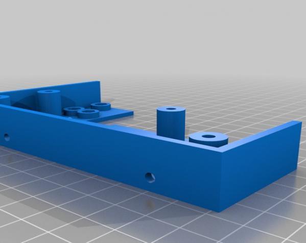 树莓派控制器外壳 3D模型  图13