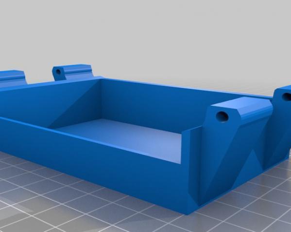 树莓派控制器外壳 3D模型  图14