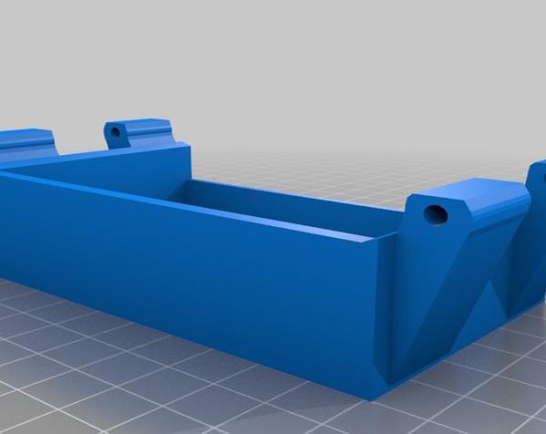 树莓派控制器外壳 3D模型  图17