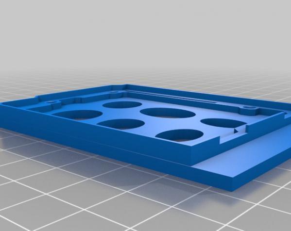 树莓派控制器外壳 3D模型  图18