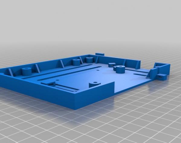 树莓派控制器外壳 3D模型  图20