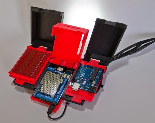 树莓派控制器外壳 3D模型  图21
