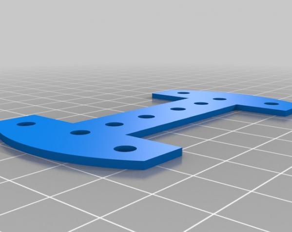 吉他把手 3D模型  图3