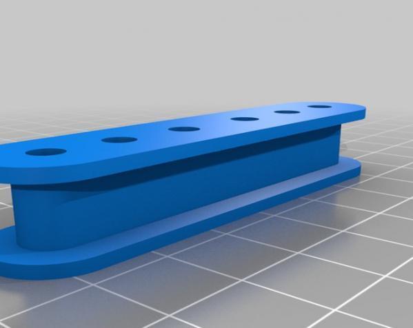 吉他把手 3D模型  图2