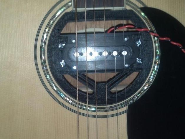 吉他把手 3D模型  图6