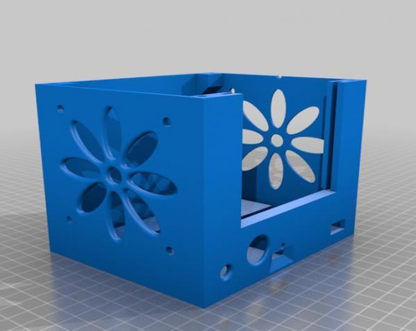 迷你太阳能小盒子 3D模型  图3