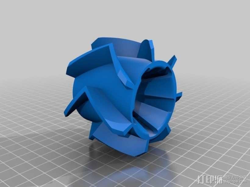 个性化遥控赛车轮子 3D模型  图7