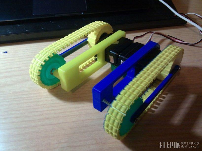 坦克履带 3D模型  图2