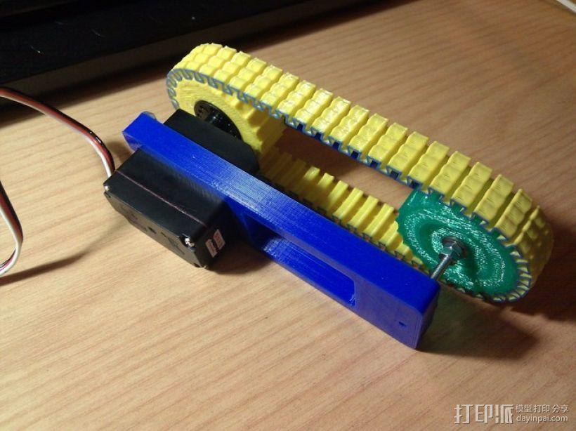 坦克履带 3D模型  图4