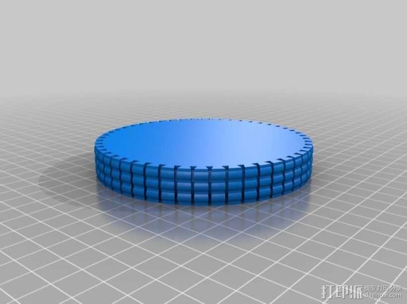 坦克履带 3D模型  图12