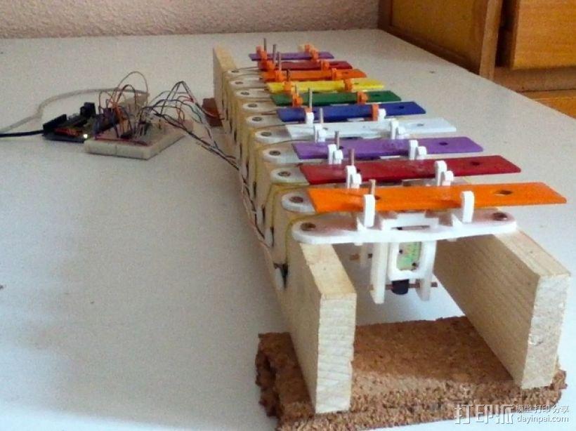 USB木琴 3D模型  图1