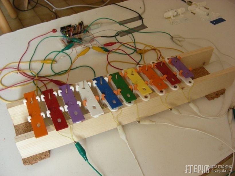 USB木琴 3D模型  图2