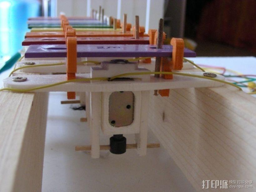USB木琴 3D模型  图3