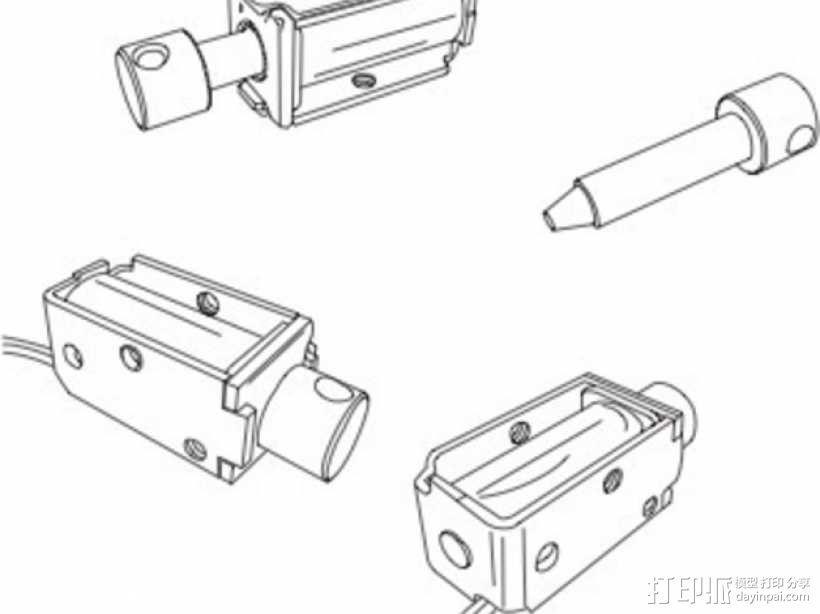 USB木琴 3D模型  图7