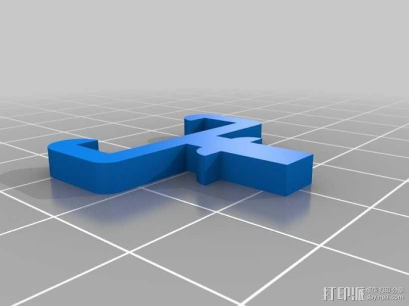 USB木琴 3D模型  图11