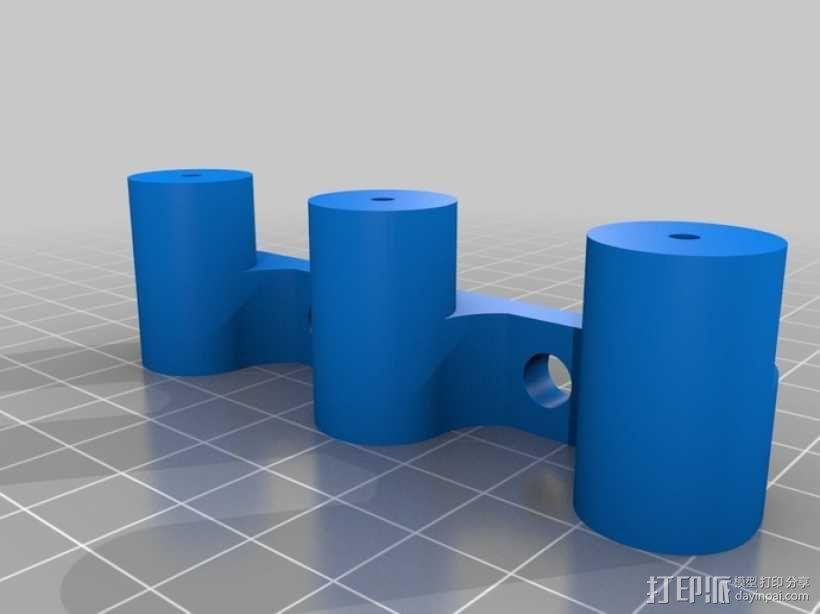 飞镖架 3D模型  图2