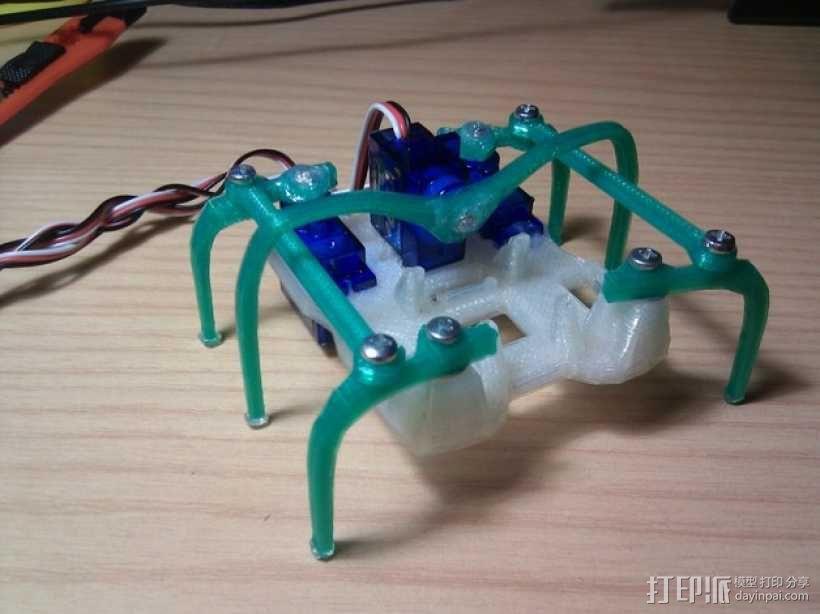 微型六脚昆虫 3D模型  图1