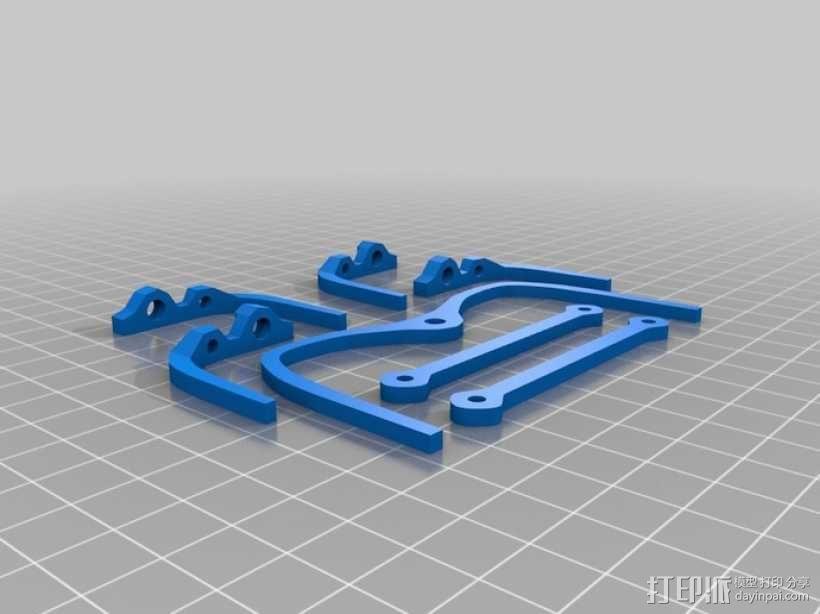 微型六脚昆虫 3D模型  图3
