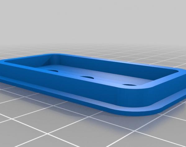 模块化自行车仪表盘 3D模型  图3