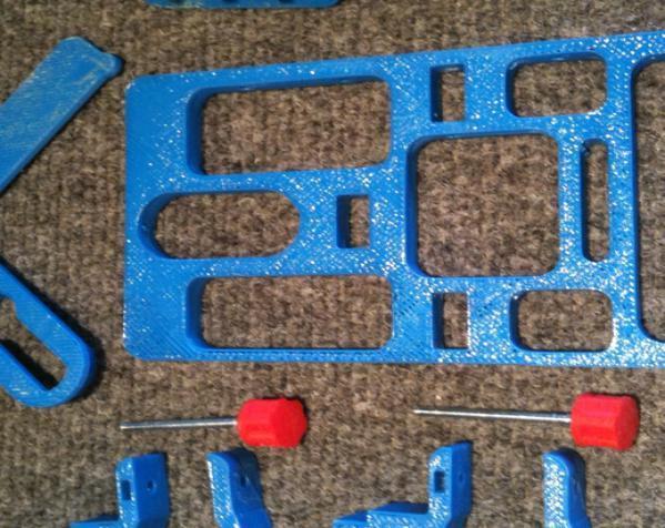 模块化自行车仪表盘 3D模型  图6