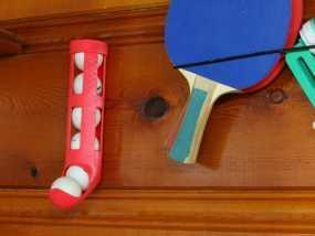 乒乓球球盒 3D模型