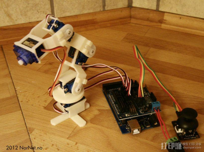 迷你机械臂 3D模型  图1