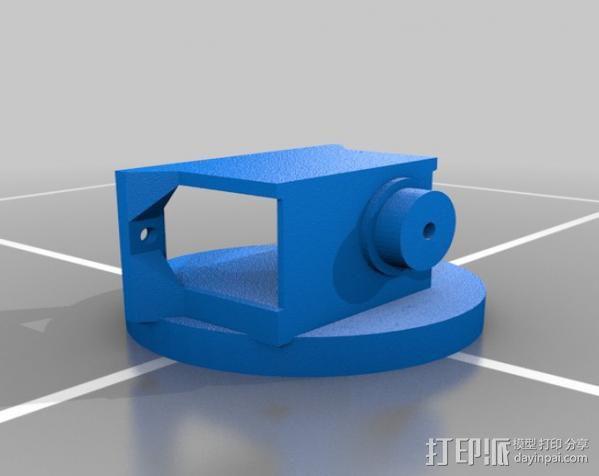 迷你机械臂 3D模型  图3