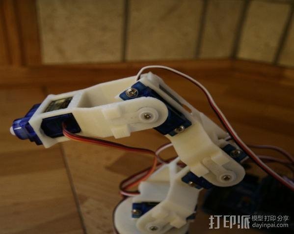 迷你机械臂 3D模型  图6