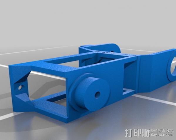 迷你机械臂 3D模型  图4