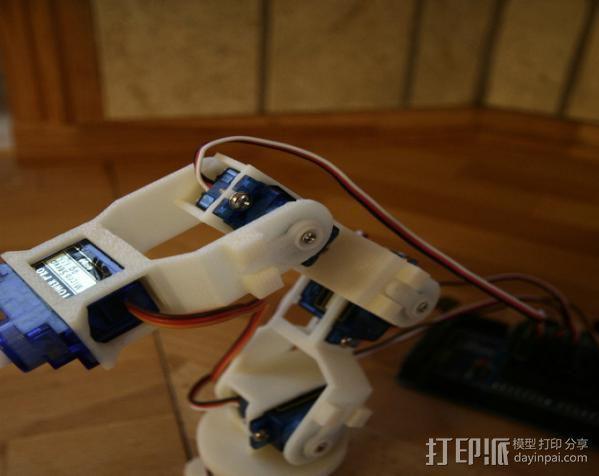 迷你机械臂 3D模型  图5