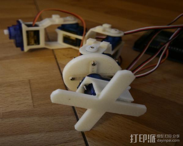 迷你机械臂 3D模型  图7