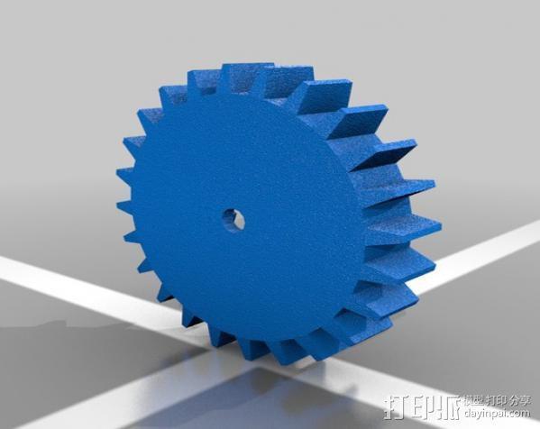迷你机械臂 3D模型  图9
