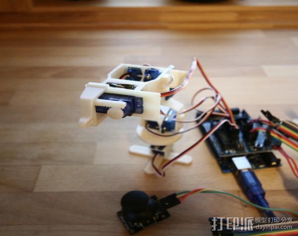 迷你机械臂 3D模型  图12