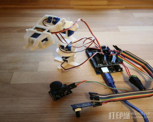 迷你机械臂 3D模型  图10