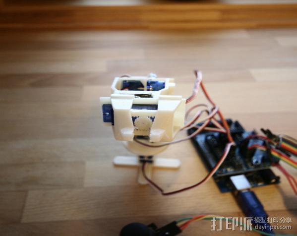 迷你机械臂 3D模型  图11