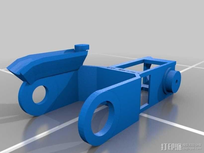 迷你机械臂 3D模型  图15